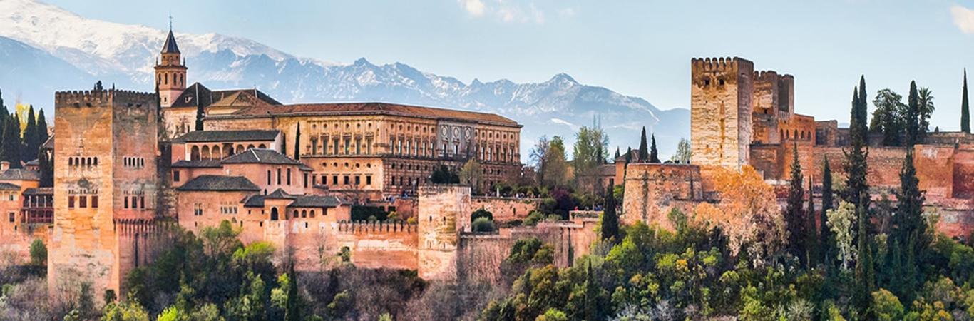 Viajes a Granada organizados